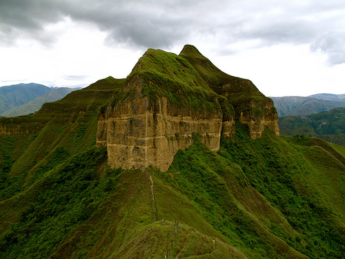 Sacred Mandango, the Sleeping Inca guards over Vilcabamba.
