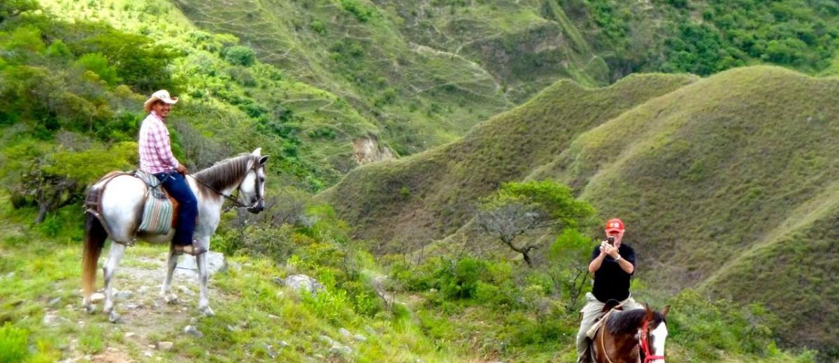horseback in vilcabamba