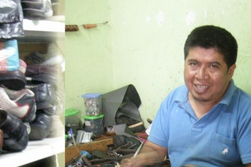 Shoe repair in Vilcabamba