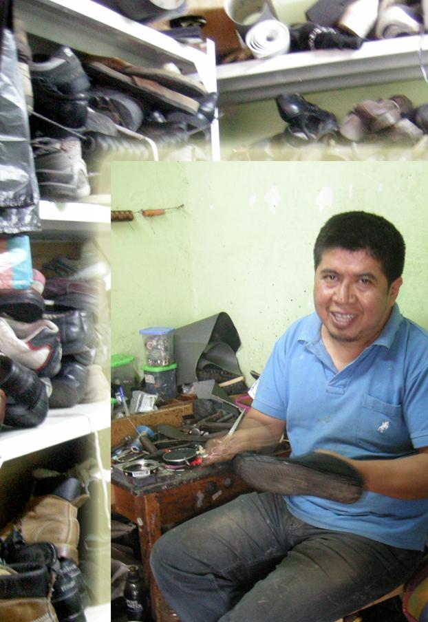 Shoe repair in Vilcabamba